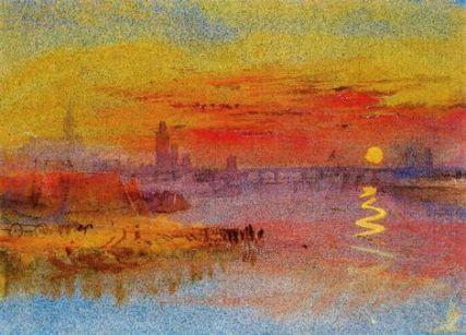 Una_ciudad_a_orillas_de_un_río_con_crepúsculo_JMW_Turner